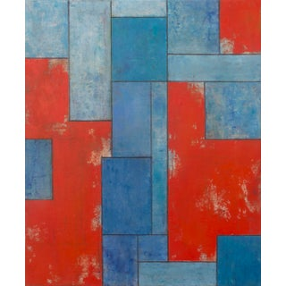 Contemporary Abstract Geometric Painting For Sale