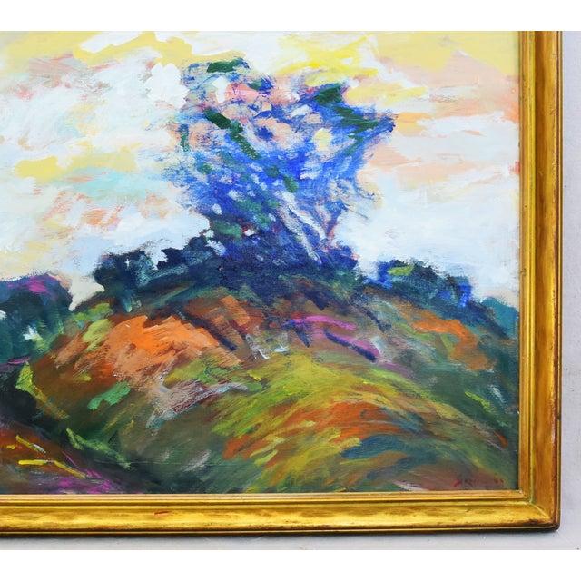 Late 20th Century Juan Pepe Guzman Ventura California Ocean/Beach Oil Painting For Sale - Image 5 of 9