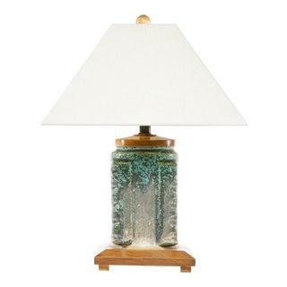 Lawrence & Scott Craftsman Porcelain Table Lamp For Sale