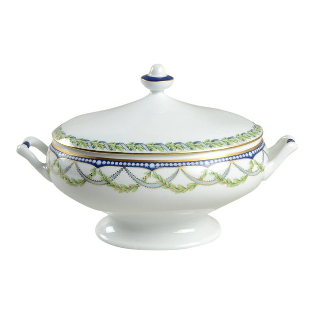 Tiffany Federal Oval Covered Server For Sale
