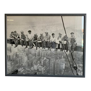 """""""Lunchtime Atop a Skyscrapper, 1932"""" Print For Sale"""