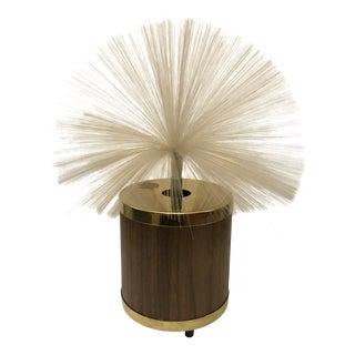 1960s Modern Rotating Fiber Optic Fantasia Lamp