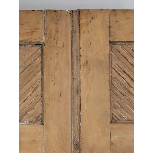 We have (2) pairs, of incredible antique American Douglas-fir barn, or garage doors, that we stripped by hand in our old...