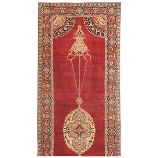 Exceptional 19th Century Persian Tabriz Gallery Carpet For Sale