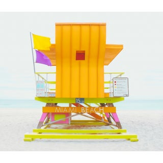 Contemporary 'South Beach, 15st' Edition Size 20 Photography by Kristin Hart, 20x17 For Sale