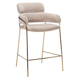 Marino Counter Stool - Beige Latte For Sale