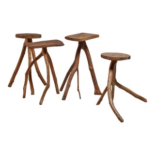 Fernando da Ilha do Ferro craft stool, Brazil