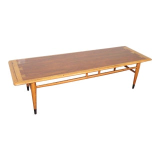 1960s Mid Century Modern Lane Furniture Cocktail Coffee Table