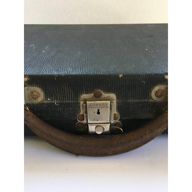 Corona 4 Portable Typewriter With Case - Image 4 of 7