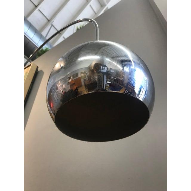 Robert Sonneman Chrome Eyeball Floor Lamp - Image 2 of 5