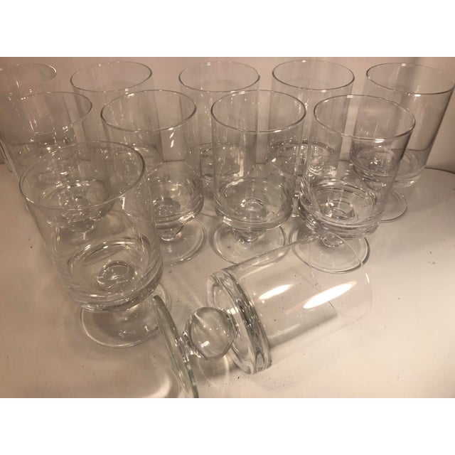 Waterford Waterford Rotondo Crystal Water Glass Goblets - Set of 11 For Sale - Image 4 of 7
