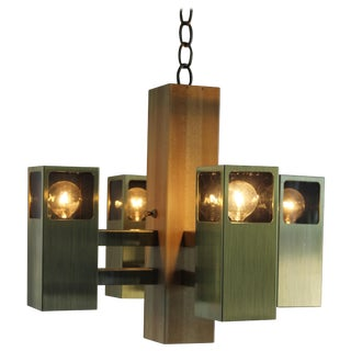 Vintage Modern Chandelier For Sale