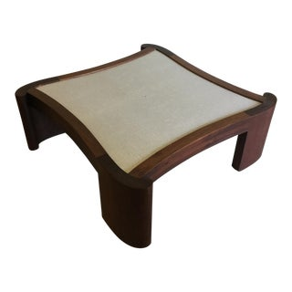 Mid Century Modern Walnut Coffee Table For Sale
