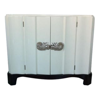Dorothy Draper Serpentine Front Cabinet