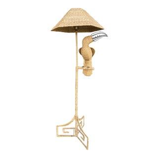 1970's Mario Lopez Torres Toucan Floor Lamp For Sale