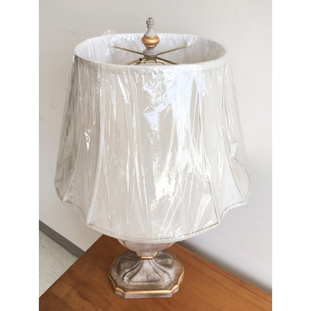 Bradburn Gallery French-Style Urn Lamp with Shade For Sale - Image 5 of 7