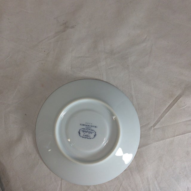 Ceramic Legacy by Noritake Grand Monarch China Saucers - Set of 4 For Sale - Image 7 of 10