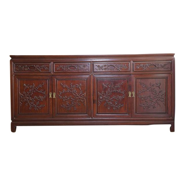 Hand Crafted Rosewood Sideboard - Image 1 of 5