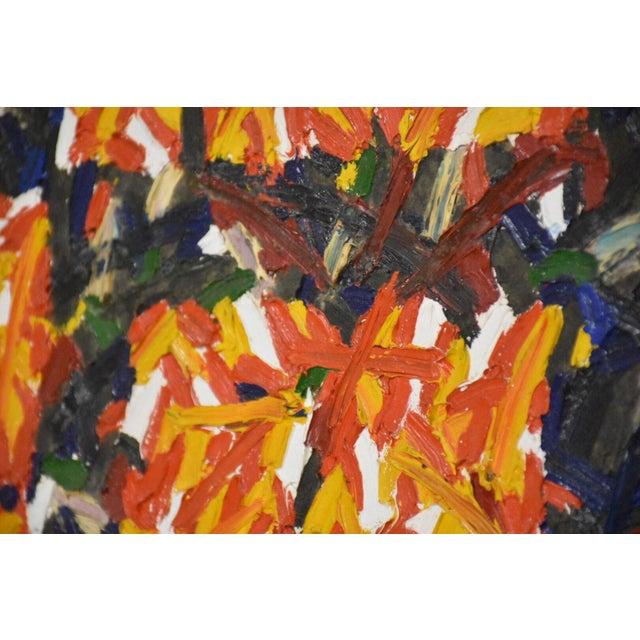 Hans Jorgen Henriksen Danish Abstract Painting - Image 7 of 8