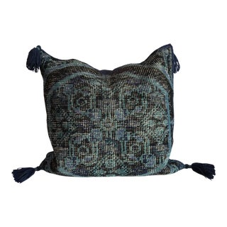 Hand Knotted Pillow For Sale