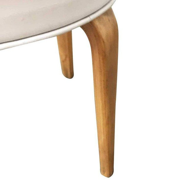 Mid-Century Modern Modernist Bentwood Stool by Thonet, Circa 1950 For Sale - Image 3 of 5
