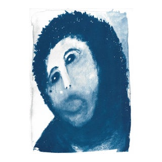 Ecce Homo Spanish Jesus Meme Cyanotype Print For Sale