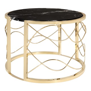 Contemporary Bracelet Side Table For Sale