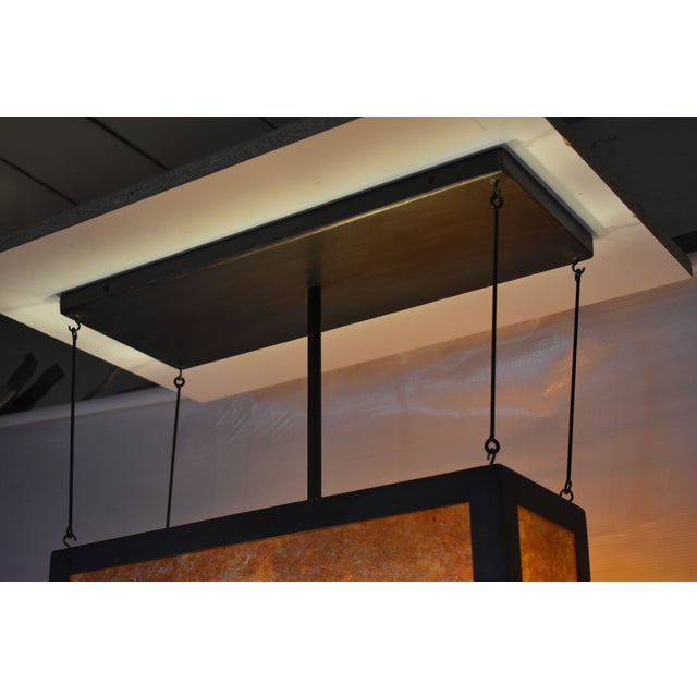 2010s Large Torii Pendant Light For Sale - Image 5 of 6