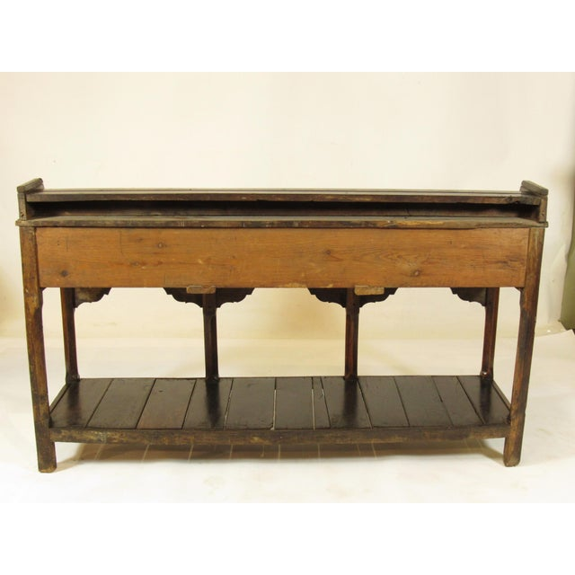 Late 18th Century 18th Century Vintage Welsh Elm Sideboard For Sale - Image 5 of 12