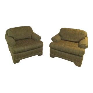 Marge Carson Club Chairs - A Pair