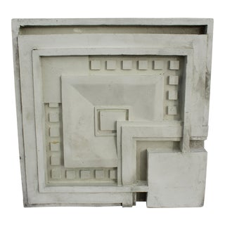 Art Deco Wall Panel After Frank LLoyd Wright For Sale