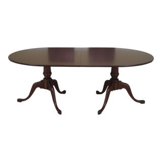 Eldred Wheeler Solid Cherry Dining Room Table For Sale