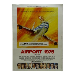 "Vintage ""Airport 1975"" Movie Poster For Sale"