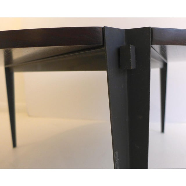 Brown Osvaldo Borsani Cocktail Table For Sale - Image 8 of 8