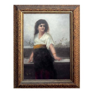 Girl with the Gold Sash For Sale