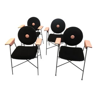 Bontempi Penelope Dining Chairs- Set of 4 For Sale