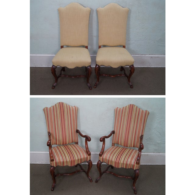 Alfonso Marina Treviso Mahogany Dining Chairs - 10 - Image 2 of 10