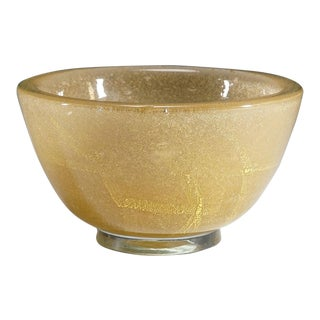 Carlo Scarpa 'Vetro Sommerso' Glass Bowl for Venini Ca. 1934 For Sale