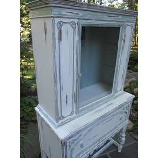 1940s Vintage China Cabinet Preview