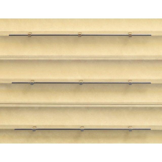 Light Yellow Modern Tommi Parzinger Lowboy Dresser For Sale - Image 8 of 11