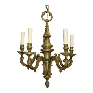 Antique chandelier, Louis XVI style For Sale