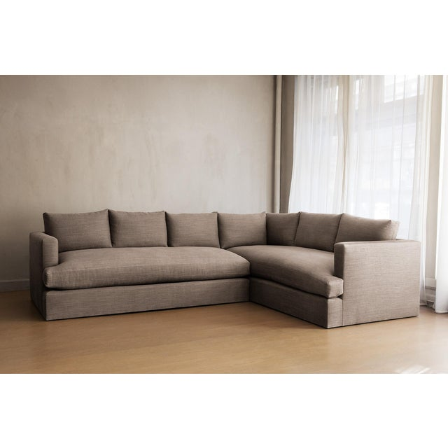 Dmitriy & Co Chelsea Square Sectional Sofa For Sale - Image 4 of 4