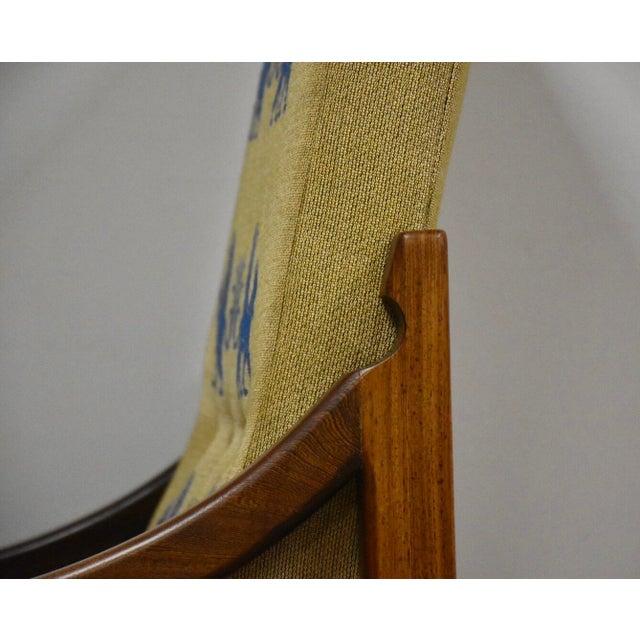 Gold Ib Kofod Larsen Megiddo Lounge Chair For Sale - Image 8 of 12