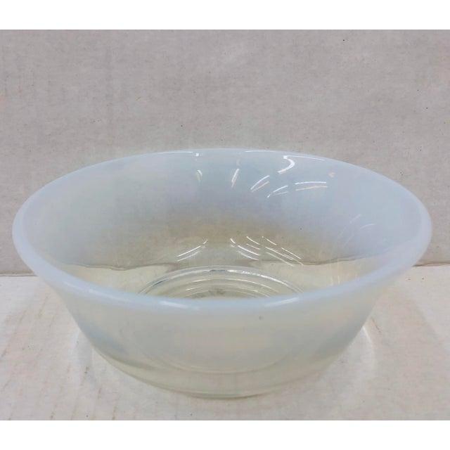 Boho Chic Vintage Opaline Cocktail Bowl For Sale - Image 3 of 7
