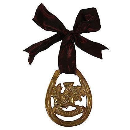 Antique Scotland Horse Brass Ornament - Image 1 of 2