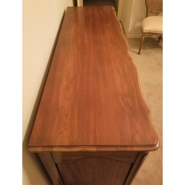 John Widdicomb French Provincial Louis XV Triple Dresser For Sale - Image 9 of 11