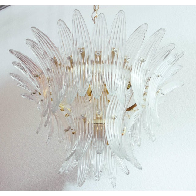 Not Yet Made - Made To Order Tropicana Palmette Chandelier by Fabio Ltd For Sale - Image 5 of 11