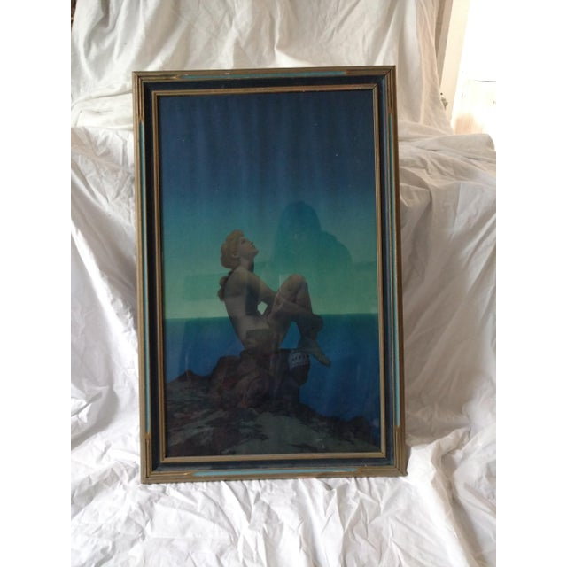 """Maxfield Parrish Framed Original Lithograph """"Stars"""", 1920's For Sale - Image 11 of 11"""