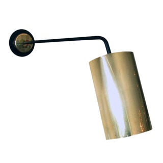 French Single Arm Wall Light For Sale