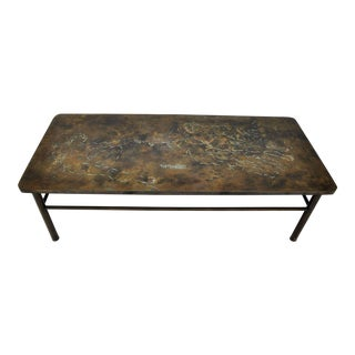 "Philip & Kelvin LaVerne, ""Creation of Man"" Coffee Table For Sale"